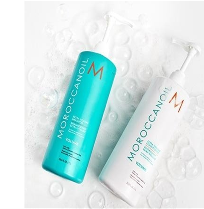 MOROCCAN OIL VOLUME SHAMPOO AND CONDITIONER DUO PACK